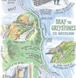 La Caminata de Bray a Greystones
