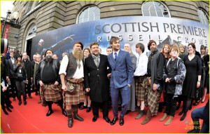 Russell Crowe attends movie premiere