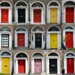 Las Puertas Georgianas en Dublin