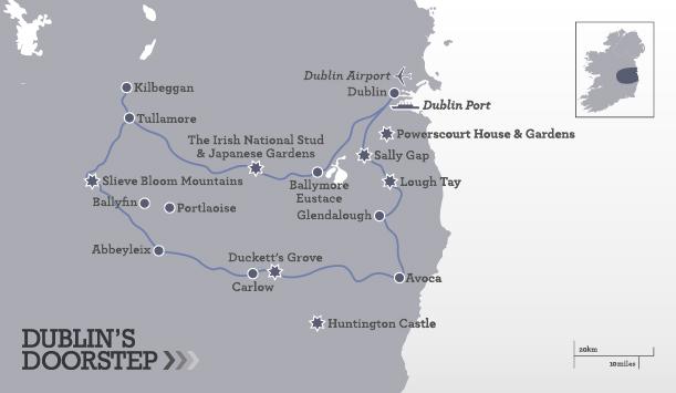 Ruta Turística - A las puertas de Dublín - en 3 días