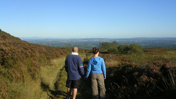 Views from the Slieve Bloom Mountains, County Laois
