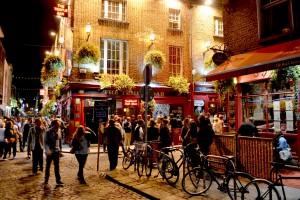 El barrio más famoso de Dublin: Temple Bar