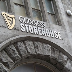 La Guinness Storehouse