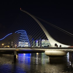 Samuel Beckett Bridge: Puentes