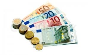 Dinero para comenzar un viaje a Irlanda