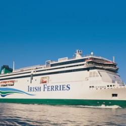 Ferry en Irlanda
