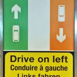 Consejos para conducir por la izquierda en Irlanda