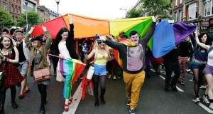 Desfile del Orgullo Gay en Dublín