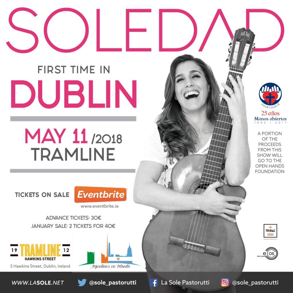 Soledad Pastorutti en Dublin
