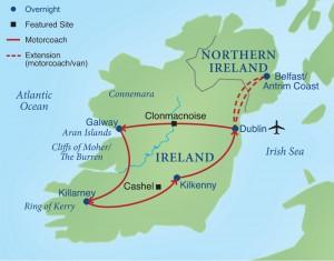 Cómo viajar a Irlanda de manera económica y fácil