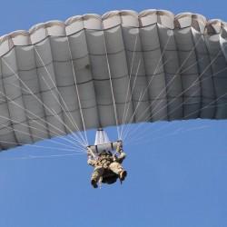 Paracaidismo en Irlanda. Divisa el país desde el cielo